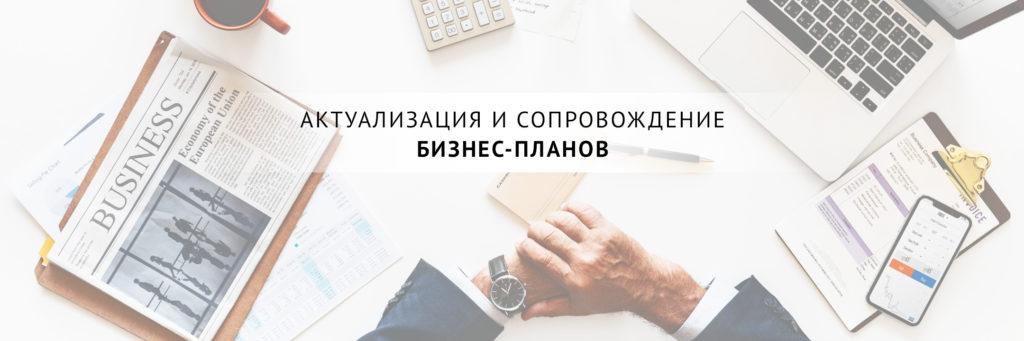 Актуализация и сопровождение бизнес-планов